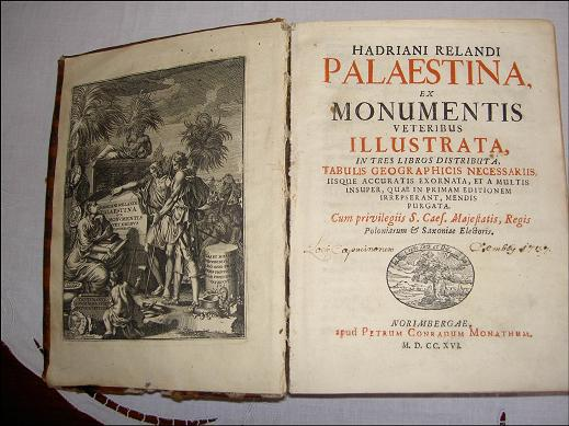 A Tour and Census of Palestine Year1695